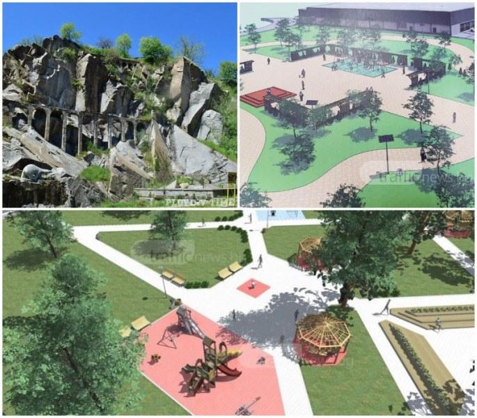 Преобразяват шест паркови зони в Пловдив с 12 млн. лева, правят нови места за отдих и спорт СНИМКИ