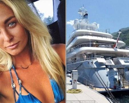 20-годишната моделка, открита мъртва, била заплетена във въжето на луксозната яхта