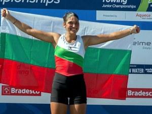 Българка стана европейска шампионка по гребане