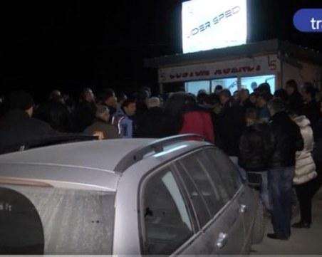 Бежанци налазиха тирове от Пловдив и други градове - вижте как ВИДЕО