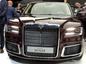 Ето я новата лимузина на Владимир Путин