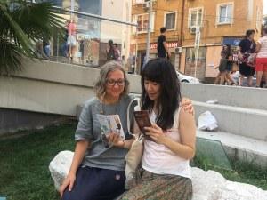 Пловдив отвън! Градът е зелен и спокоен, а хората - усмихнати и щастливи, казва японката Йоко Ямагучи