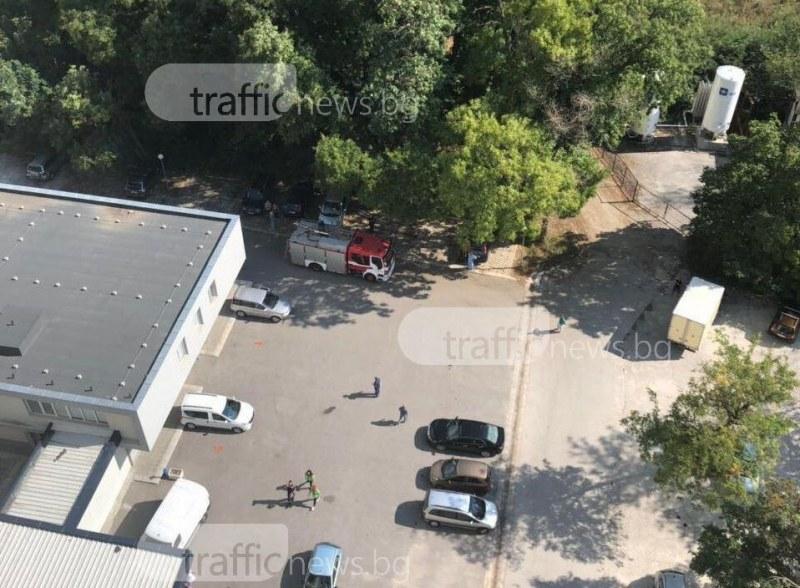 Пациент от Хирургиите в Пловдив се хвърли от висок етаж СНИМКИ
