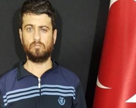 Турското разузнаване залови терорист, отговорен за смъртта на 53 души