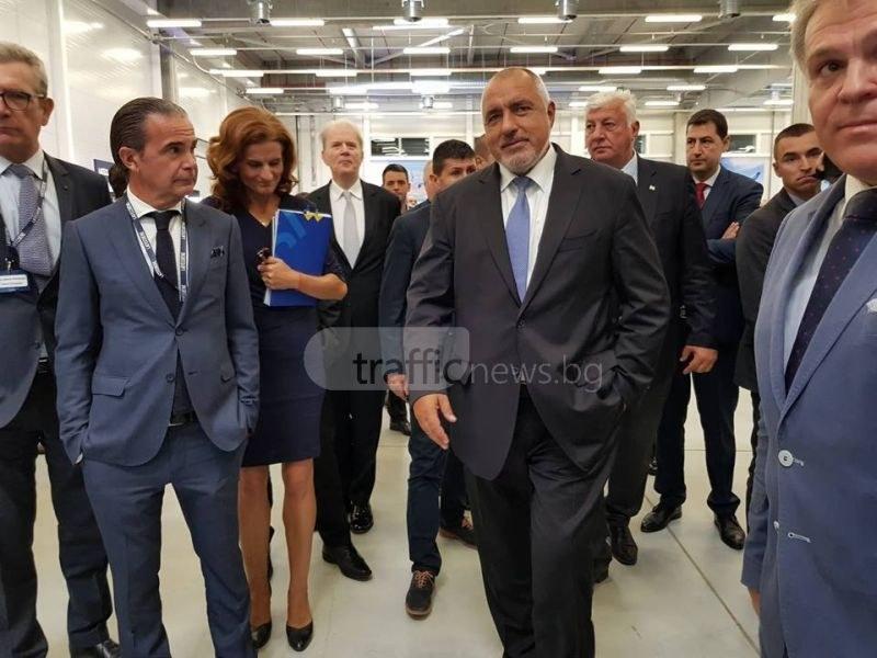 Бойко Борисов откри новия завод за 11 млн. евро край Пловдив ВИДЕО и СНИМКИ