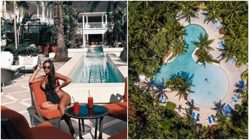 Николета Лозанова отново потъна в разкош! Снима се сред палми на Бахамите СНИМКА