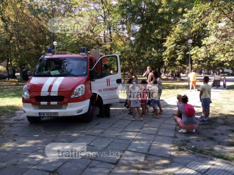 Училищата в Пловдив са с отлични противопожарни мерки ВИДЕО
