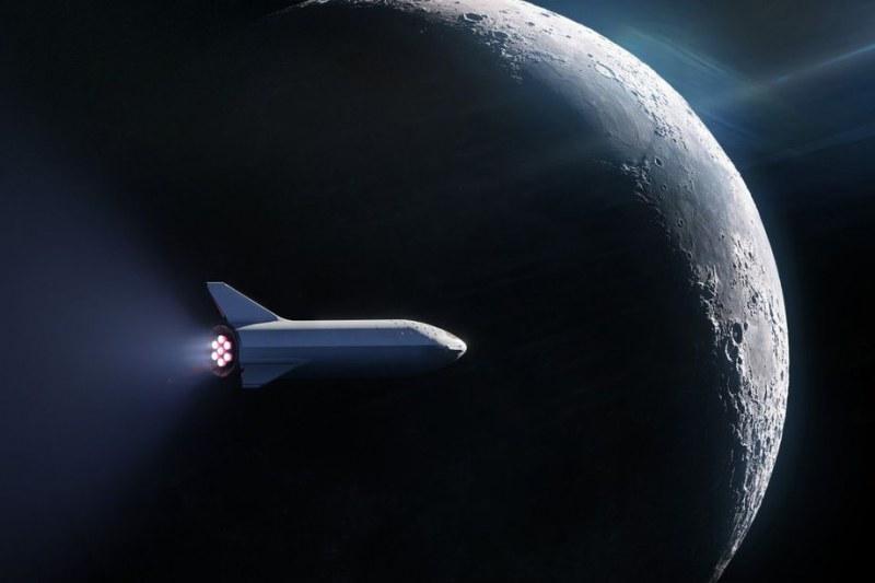 Илон Мъск праща първия турист на Луната