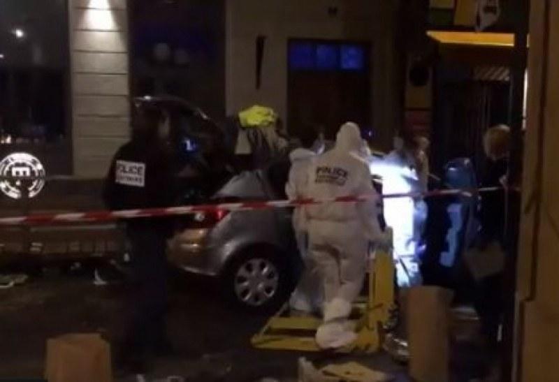 Шофьор се вряза в група хора с крясъци Аллах Акбар