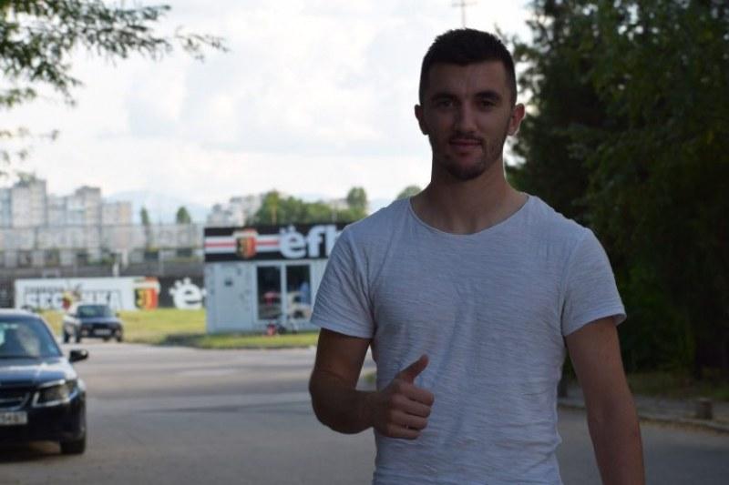 Словенецът, минал пред Борусия Д, с първа тренировка за Локо