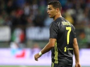 Роналдо се отпуши с два гола за Ювентус ВИДЕО