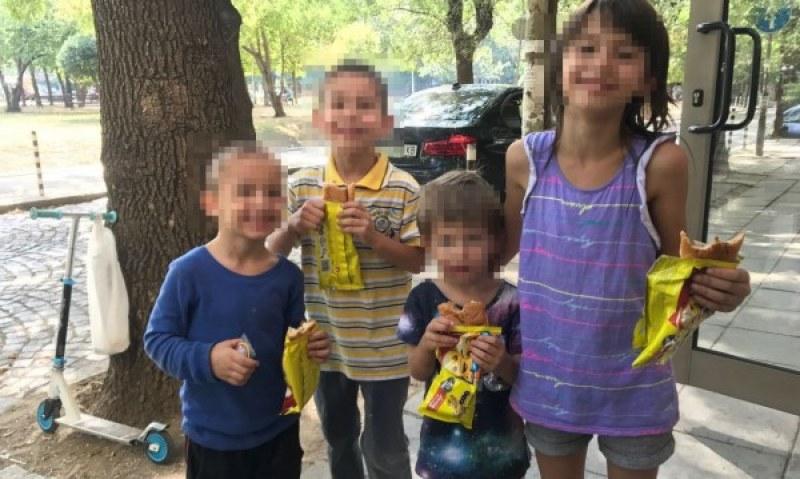Майка с четири деца е на улицата! Бащата ги изгонил