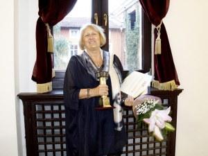 """Бина Харалампиева с големия приз на """"Сцена на кръстопът"""""""