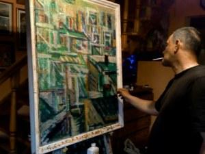 Маестро Иван Минчев изневери на Варна, празнува 50-ти юбилей с изложба в Пловдив