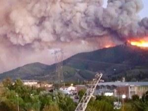 Огромен пожар лумна край Пиза! Стотици са евакуирани СНИМКИ