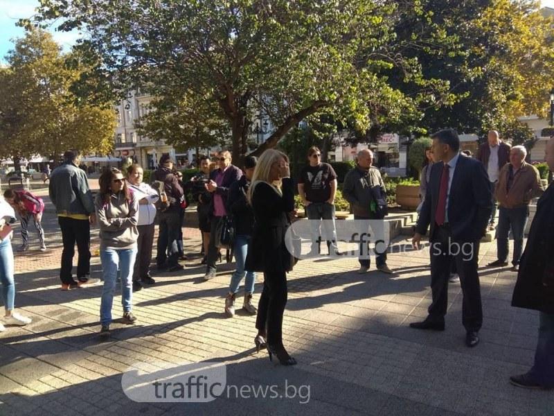 Пловдивчани: Искаме детски ясли, а не заселване на безнадзорни роми СНИМКИ