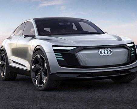 Електричeските коли на Audi ще се зареждат за 12 минути