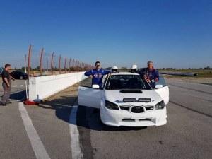 Пловдивски екипаж с кола от световния шампионат на рали България СНИМКИ