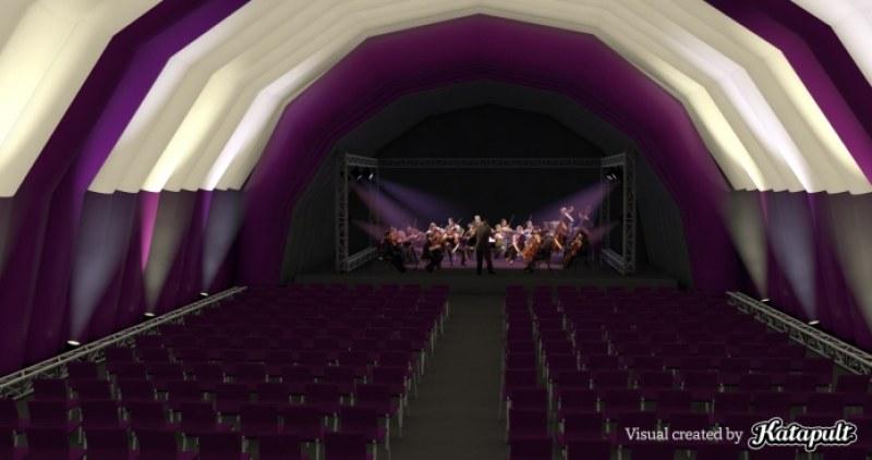 Купуват мобилна зала за концерти и представления, която ще обикаля цял Пловдив