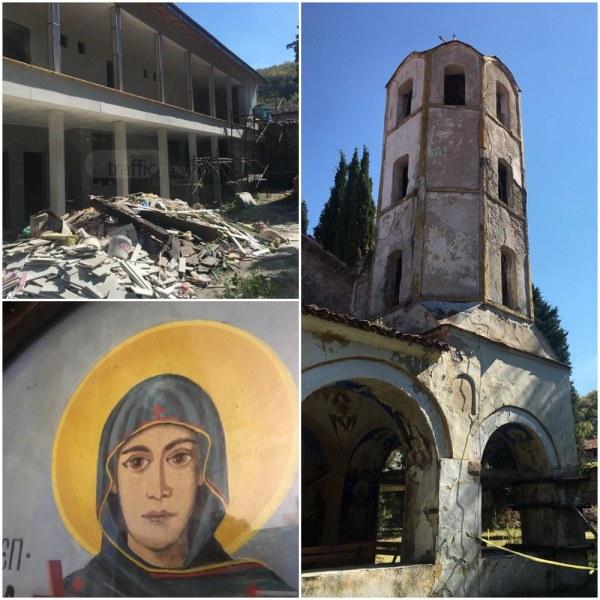 Премиерът идва в прочут манастир край Пловдив, засегнат от унищожителен пожар СНИМКИ