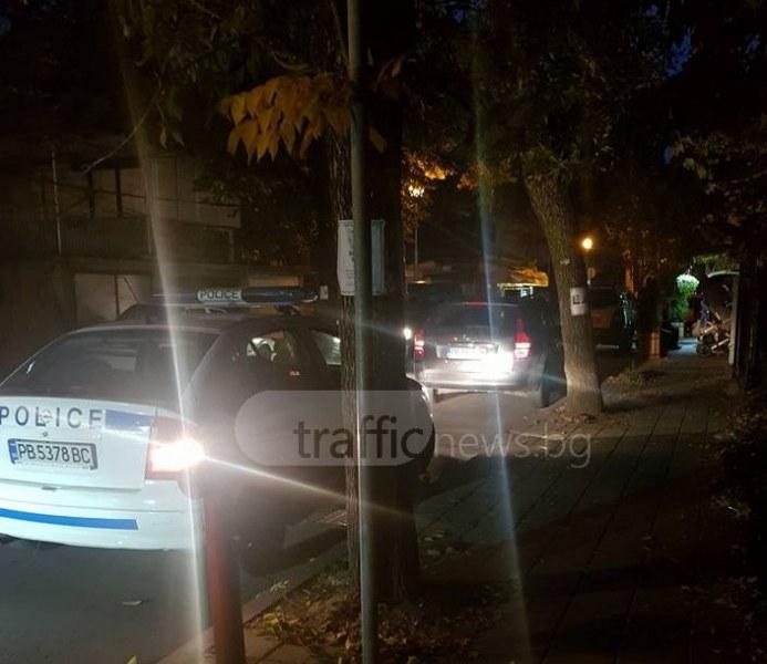 Мъж почина, докато върви по тротоара в Смирненски СНИМКИ