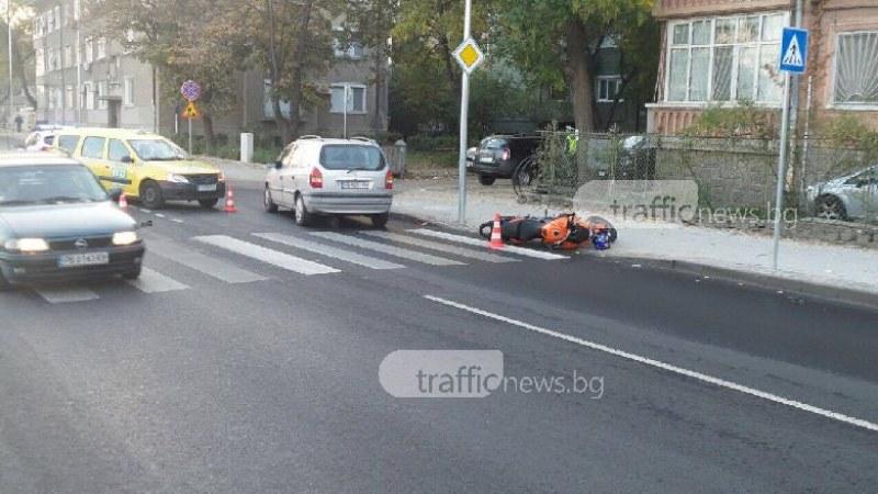 Мотористът се е разминал без наранявания при инцидента до Водна палата