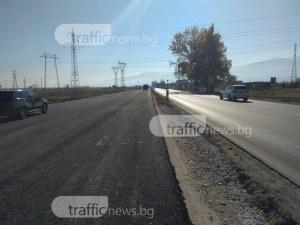 Замразяват ремонта на пътя Пловдив – Асеновград, рестартират го с локалите през март СНИМКИ