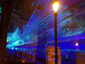 Магично: Лазерна 3D проекция на едни от шедьоврите на българското изкуство изуми Пловдив СНИМКИ