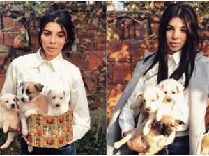 Мегз подарява випбрадърски кученца СНИМКИ