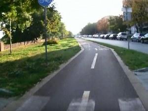 През погледа на велосипедист: Зверска тапа блокира Пловдив ВИДЕО