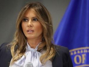 Двойничка на Мелания Тръмп направи стриптийз в Белия дом ВИДЕО