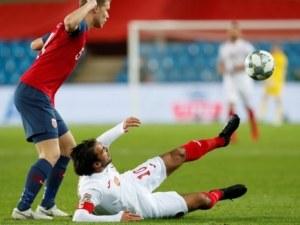 Сдадохме първото място в групата след слаб мач и загуба от Норвегия