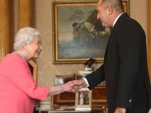 Президентът Радев покани кралица Елизабет II на гости в България СНИМКИ