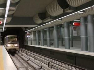 Мъж се хвърли пред влака в метрото в София