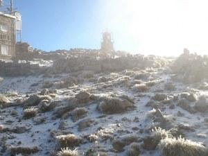Честито! Сняг покри най-високия връх в България