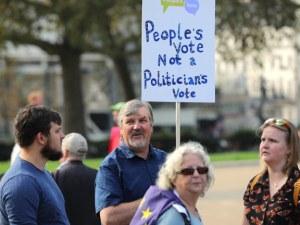 Над 500 000 се стекоха на протест в Лондон, искат референдум