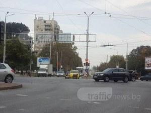 Овчици дремят по средата на кръстовище в Пловдив! На 200 метра роми стоят смутени до празен бус СНИМКИ