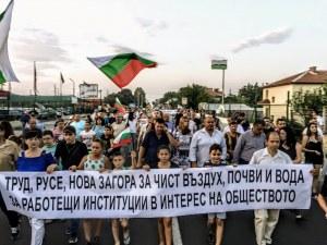 Жива верига блокира един от входовете на Пловдив! Жителите на Труд искат чист въздух
