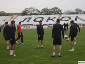Локо с две промени в групата за мача с Дунав