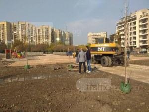Вместо нови жилищни мастодонти - парк от 11 декара в Тракия СНИМКИ
