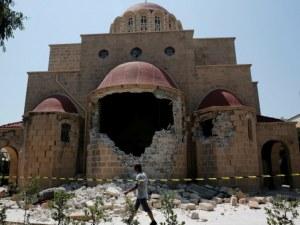 Десет вторични труса разтресоха Гърция! Нанесени са много щети