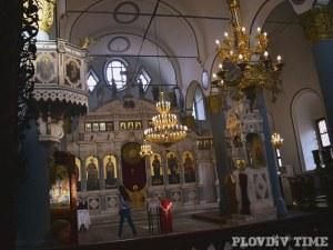 Празнува пловдивският храм, който пази аязмо с жива вода