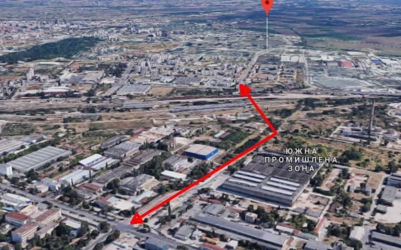 Правят детелина на новия надлез над жп линиите в Пловдив, който ще свърже Кючука с Тракия