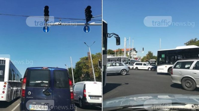 Изключват светофарите на едно от най-оживените кръстовища в Пловдив