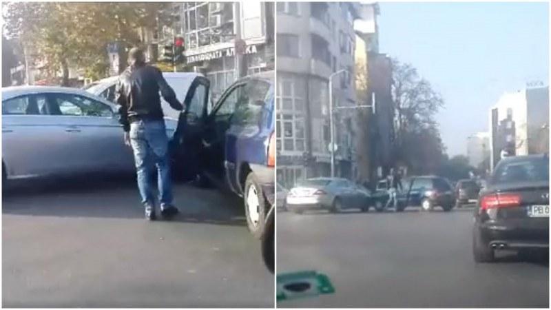 """Катастрофа затруднява движението на """"Източен"""" СНИМКИ"""