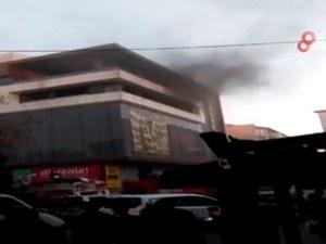 Пожар в турски мол близо до българската граница, има блокирани хора ВИДЕО