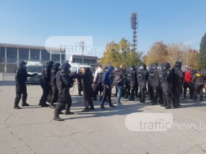Командосите на Пловдив обезвредиха барикадирал се мъж, заплашващ с бомба СНИМКИ+ВИДЕО