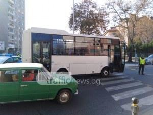 Лъжа е, че блъснатата от автобус жена е изскочила внезапно! ВИДЕО го доказва!