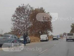 41-годишен шофьор е пострадал при катастрофата край Пазарджик