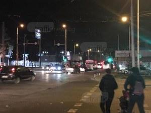 Катастрофа затапи възлово кръстовище в Кючука СНИМКИ